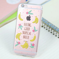 Cute Banana Cover Case for iPhone 5s 5se 6 6s Plus Gift 318