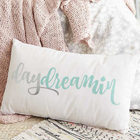 Aerie + Dormify Daydreamin' Graphic Pillow , Soft Muslin