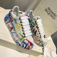Alexander Mcqueen Graffiti Oversized Sneakers Reference #1 - Best Online Sale