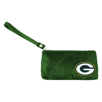 Green Bay Packers NFL Color Sheen Wristlet