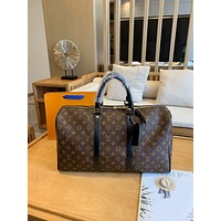 New LV Louis Vuitton Women's Leather Shoulder Bag LV Tote LV Handbag LV Shopping Bag LV Messenger Bag