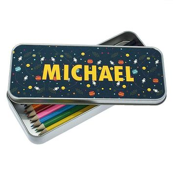Cute Pencil Cases Planets and Space Themed Pencil Case