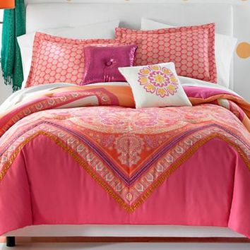 jcpenney - Seventeen® Gypsy Chevron Comforter Set and Accessories - jcpenney