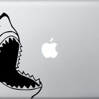 Shark Decal for Apple MacBook - MacBook Air - Laptop Decal - Great White