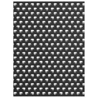 Elephants - Black And White Fleece Blanket