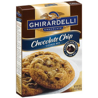 Walmart: Ghirardelli Chocolate Chip Cookie Mix, 20 oz