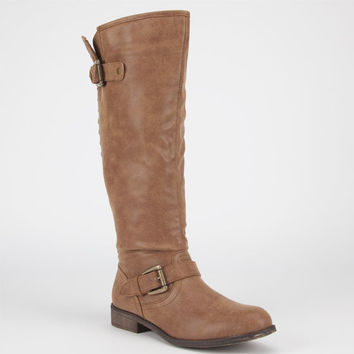 Madden Girl Cactuss Womens Boots Cognac Paris  In Sizes