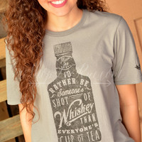 SHOT OF WHISKEY TEE