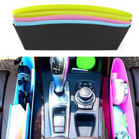 New Catch Catcher Box Caddy Car Seat Gap Slit Pocket Storage Organizer Holder HU
