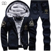 Men Track Suit Casual Outwear