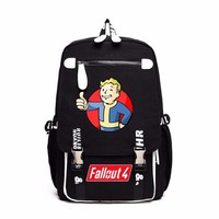 Fallout 4 Backpack men women bag student bookBag Travel bag shoulder bag Computer package