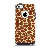 The Simple Vector Giraffe Print Skin for the iPhone 5c OtterBox Commuter Case