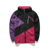 Tricolored Windbreaker