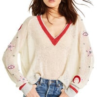 Power Icons Quincy Sweater - Wildfox