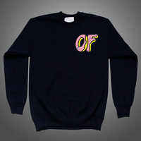 OFWGKTA Odd Future Donut OF Sweatshirt T-shirt Hoodies Clothing