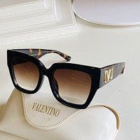 Valentino Popular Women's Men's Fashion Shades Eyeglasses Glasses Sunglasses 0421