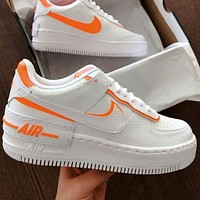 Nike Air Force 1 hot sale women's color block platform casual sneakers Shoes