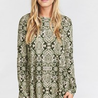 Tyler Tunic Dress ~ Olive You Spandy