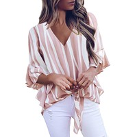 Cowgirl Dreams Striped Top