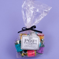 Bag of 14 Confetti Poppers