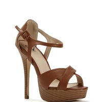 Sale-brown Feeling Myself Heels