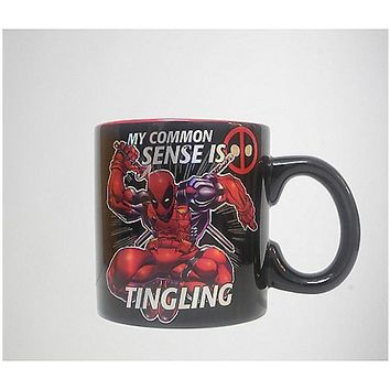 Deadpool Common Sense Mug - Spencer's