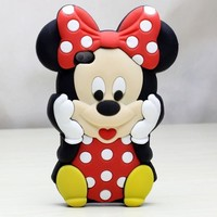 Deco Fairy Branded 3D Cute Cartoon Mouse Soft Silicone Case Cover
