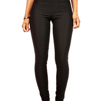 Solid Canvas Skinnys   Basic Pants at Pink Ice