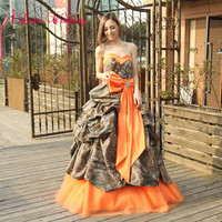 Camouflage Wedding Dresses Ball Gown
