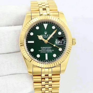 Rolex Lover Unisex Fashion Quartz Movement Watch
