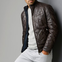 REVERSIBLE JACKET - View all - Leather jackets - MEN - United States of America / Estados Unidos de América