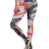 Sex Pistols God Save The Queen Leggings | Hot Topic