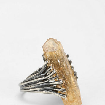 Adorn By Sarah Lewis Topaz Talon Ring - Urban Outfitters