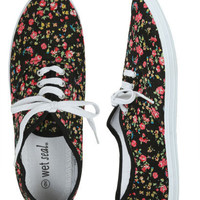 Ditsy Floral Tennis Shoe - Teen Clothing by Wet Seal