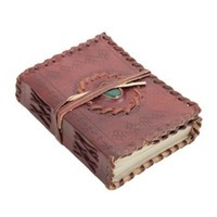 Medieval Stone Templar Leather Journal Diary (220 Pages)