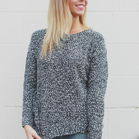Rough Edges Sweater