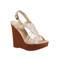 Womens Mia Blanco Wedge, Cream, at Journeys Shoes