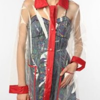 UrbanOutfitters.com > Pins and Needles Clear Plastic Raincoat