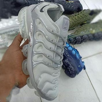 Nike Air Max Vapormax Plus TN Air Cushion Running Shoes Fashion Men's and Women's Shoes Casual Sports Shoes