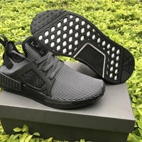 Adidas Originals NMD Runne black Basketball Shoes 40-45