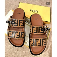 Fendi Women Fashion Slipper Sandals Shoes