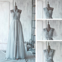 2015 New Convertible Chiffon Bridesmaid dress, Wedding dress, Party dress, Formal dress, Prom Dress, Floor Length  (T071)