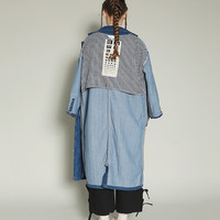 Tyakasha Optometry Maxi Denim Jacket
