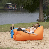 Portable Inflatable Camping Hammock - Lounge Anywhere!