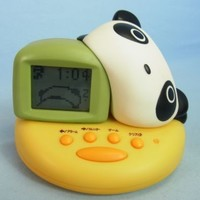 San-X Tare Panda Alarm Digital Clock Bandai  Japan (DL063