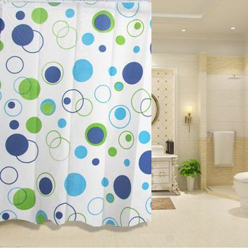 Bathroom Shower Curtains Waterproof PEVA Mildew Proof Shower Curtain7 Styles For Choose LH8s