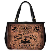 Day of the Dead Ouija Board Large Hand Bag