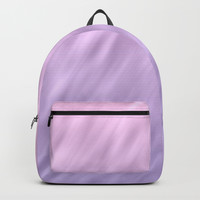 Ultra violet haze abstract texture design Backpack by edrawings38