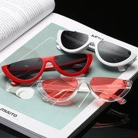 Half Frame Women's Sunglasses Sunglases Fashion Dress Up Trend New Products 2018 Brand Glasses Sunglass For Women