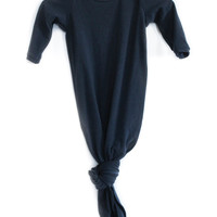 Knotted Sleeper in Navy